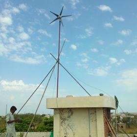 巴基斯坦家用风光互补发电系统
