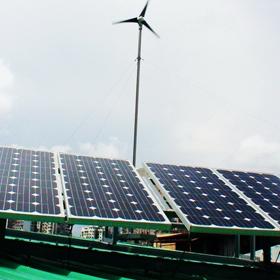 香港风光互补家用发电系统