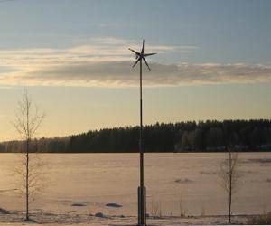 芬兰湖泊风光互补供电系统