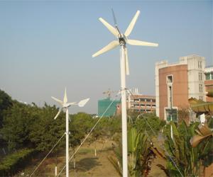 中山大学风光互补供电系统
