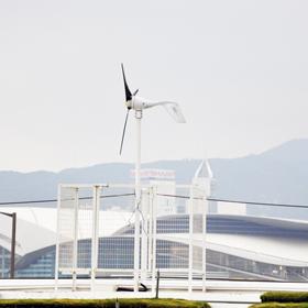 香港中环码头风光互补发电系统