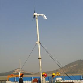 广州船业风光互补发电系统
