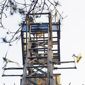 福州森林防火监控风光互补发电系统
