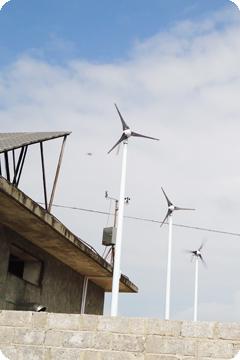 通信基站风光互补发电系统